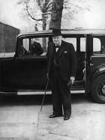 OLD PHOTO British First Lord Of The Admiralty Winston Churchill 1940