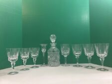 Crystal Decanter Set - 9 piece