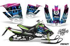 Arctic Cat Sno Pro Race Sled Wrap Snowmobile Decal Graphic Kit 08-11 FRENZY BLUE