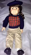 """American Girl Molly Doll with Bomber Jacket and """"Molly Takes Flight"""" book"""