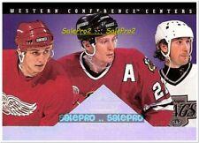DONRUSS 1994 WAYNE GRETZKY ROENICK SESRGEI FEDOROV NHL MINT DOMINATORS # 5/8