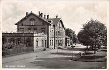 681067) AK Bahnhof St. Ingbert Saar gelaufen 1936