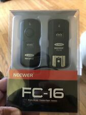 NEEWER FC-16 CAMERA STROBE REMOTE TRIGGER ~FITS CANON~ BRAND NEW  R-5