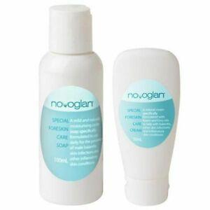 NOVOGLAN Special Foreskin Care Cream and Soap Bundle