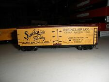 Sinclairs   40'  wood reefer