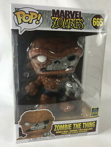 SDCC Morvel Zombies The Thing Oversized Exclusive Funko Pop Figure #665