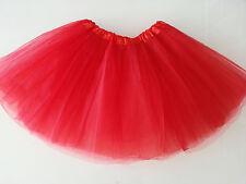 Women/Adult Teen 3 Layer Tulle TUTU Skirt Organza Pettiskirt Ballet Dancewear