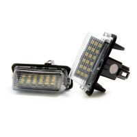 2 X Illuminazione Targa LED Toyota Yaris Camry Corolla Ractis Verso Xenon