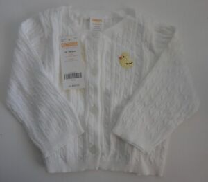 Vintage Gymboree White Duck Sweater Spring 2008 New w/ Tag 12-18 mos. NOS