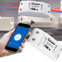 Smart Home WiFi Wireless Switch Light Remote Control Module DIY Timer Socket