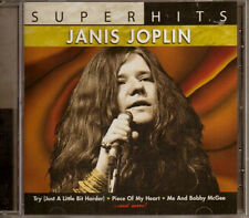 JANIS JOPLIN ~ SUPER HITS NEW AND SEALED CD * ORIGINAL RECORDINGS *