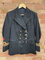 WW2 Royal Navy Lieutenant Officers Naval Jacket 1944 Wire Insignia South Africa