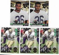 1993 Jerome Bettis Rookie Lot Topps Stadium Club Draft Pick Classic 4 Four Sport