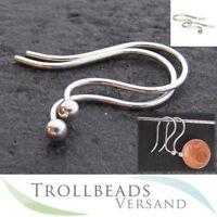 Trollbeads Ohrhaken, Silber - TAGEA-00002 - NEU