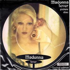 """MADONNA 7"""" fièvre Photo Disc + insert PVC Manche neuf en stock depuis 93"""