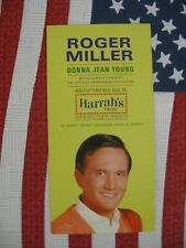 Roger Miller 1967 Harrah'S Postcard