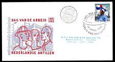 Dutch Antilles - 1960 Labour Day -  Mi. 109 addressed FDC (E15)-2