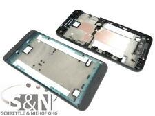 Original HTC Desire 610 Front Gehäuse Cover f. Display Kleber Rahmen, schwarz