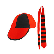 School Boy kit includes Cap & Tie- Fancy Dress Accessories