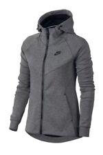 NEW Women Nike Sportswear Tech Fleece Hoodie 842845 092 SIZE SM Carbon Heather