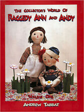Raggedy Ann & Andy Collector's World of,  Andrew Tabbat Vintage character