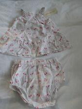 Brand New Debenhams Rocha Little Rocha girls pink dress & knickers set. Newborn.