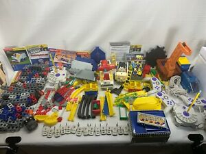 HUGE Rokenbok Building Toy Materials Controllers Buildings Conveyors Structural