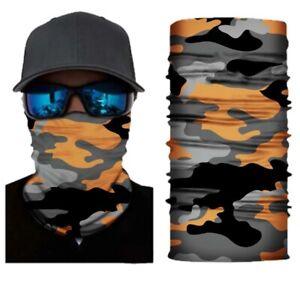 Mask Face Cover Bundle Of 4 Biker Balaclava Scarf Gaiter Bike Bandana Locs Hat