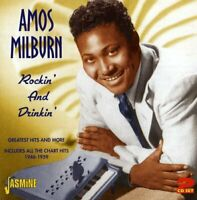 Amos Milburn - Rockin and Drinkin - Greatest Hits and More: Includes [CD]