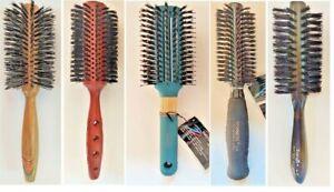 Spornette ROUND BOAR BRISTLE Hair Brushes # 44  685  695  DUETE 55 G-30 (1 pc)