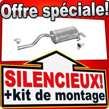 Silencieux Arriere RENAULT CLIO II 1.2 16V 1.4 16V 2000-2005 échappement UXU