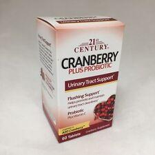 21st Century Cranberry Plus Probiotic Tablets, 60ct 740985278482S360