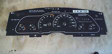 94-96 CAMARO RS V6 3.4 3.8 110 MPH INSTRUMENT GAUGE CLUSTER FACE PLATE BOARD