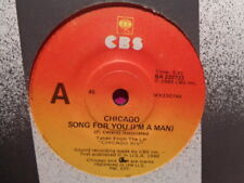 """Chicago """"Song For You (I'm A Man)"""" 1980 CBS Oz 7"""" 45rpm"""