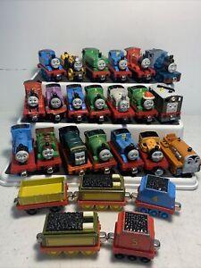 Thomas & Friends Take-N-Play Along Diecast Magnetic Train 25pc lot
