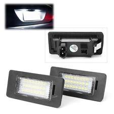 White LED License Plate Number Light Lamp for BMW E39 E60 E82 E88 E90 E91 E70 ha
