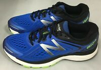 New Balance M860BG8 860V8 Cobalt Blue / Lime / Black Men's Running Shoes 8 US