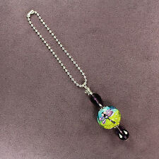 DRAGONFLY TOTEM CAR CHARM Suncatcher Rearview Mirror Dangler Crystal Lampwork