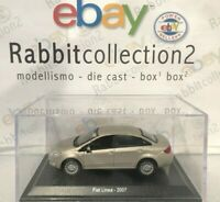 "DIE CAST "" FIAT LINEA - 2007 "" + TECA RIGIDA BOX 2 SCALA 1/43"