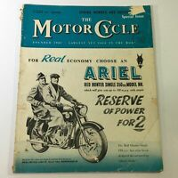 VTG The Motor Cycle Magazine March 21 1957 - Ariel Red Hunter Single 350cc NH