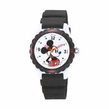 Mickey Wrist Watch Waterproof Black HW02-001 CITIZEN Q&Q Japan Disney