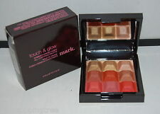 Avon mark Touch & Glow Shimmer Cream Cubes All-Over Mirrored Face Palette CORAL