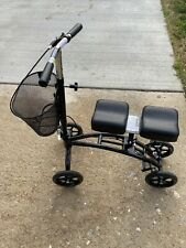 Equate EQKW100 Steerable Knee Walker Scooter EXCELLENT CONDITION USED FEW TIMES