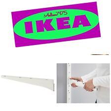 """Ikea Algot Steel Shelf Metal Bracket White 15"""" - New - 202.185.45"""