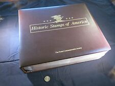 COMPLETE HISTORIC STAMPS OF AMERICA; POSTAL COMMEMORATIVE SOCIETY