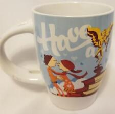 "Tetley Tea Advertising Have A Tetley Tea Break Ceramic Mug 4"" Teas Coffee !!!"
