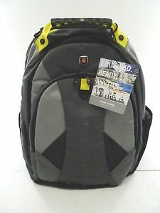 """New -SwissGear PULSAR 16"""" Laptop Backpack -  Two toned Gray"""