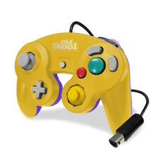 Old Skool Dual Analog Controller for Nintendo Game Cube & Wii - Mascot Yellow