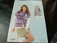 Sirdar Flurry Chunky Pattern 7961 Cardigans