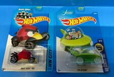 Hot Wheels HW City & Screen Time Angry Birds Red & The Jetsons